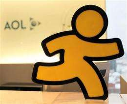 Newly independent AOL posts 4Q profit (AP)