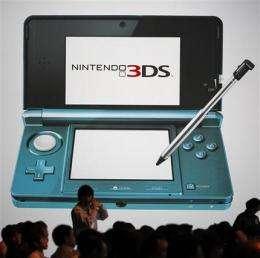 Nintendo nine-month net profit tumbles 74 percent (AP)