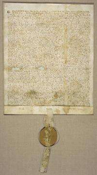 NIST to frame the Magna Carta