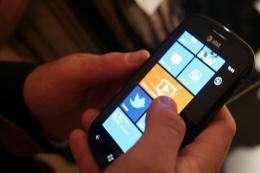 Nokia said Microsoft's Windows Phone would now serve as its primary smartphone platform