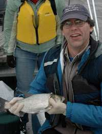 Notre Dame biologist Lodge's DNA detections validated by Asian carp capture in Lake Calumet