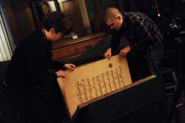 One of world's largest Korans reunited by technology