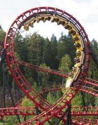 On Paper, the World's Smoothest Roller Coaster Ride