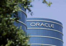 Oracle profit slips, but software revenue rises (AP)