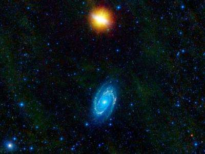 Partner galaxies different in new imaging