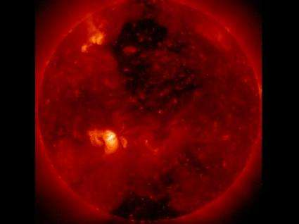Peering Into a Coronal Hole