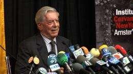 Peru's Mario Vargas Llosa wins Nobel Literature Prize  Duration: 00:52