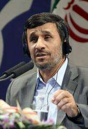 President Mahmoud Ahmadinejad said that Iran plans to send a man into space by 2019
