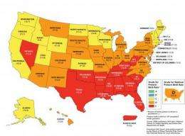 Preterm birth rates improve in most states