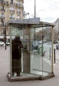 Public phone boxes