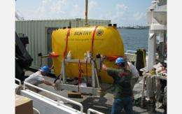 Research Mission Studies Oil Spill Using Autonomous Underwater Vehicle and Mass Spectrometry