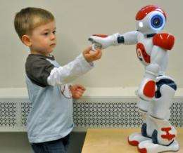 Robot Speaks the Language of Kids