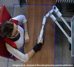 Robot teaches stroke survivors