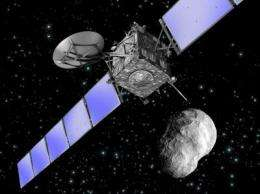 Rosetta's blind date with asteroid Lutetia