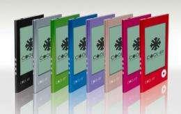 Samsung E6 and E10 e-book readers