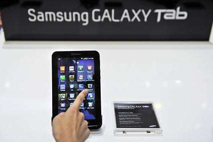 Samsung's tablet device the