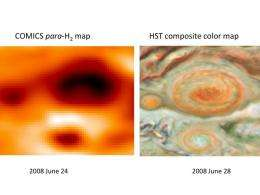 Science Results - A Fresh Look at Jupiter's Great Red Spot