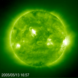 Scientists track solar eruption all the way from the Sun to the Earth