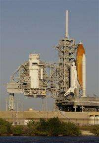 Shuttle launch off until end of month to fix leak (AP)