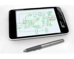 Sketch-interpreting software