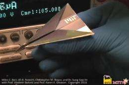 solar cell paper airplane