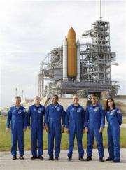 Space shuttle leaking, NASA working up repair plan (AP)