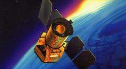 Space Telescope Moves on with One Detector
