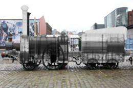 Steam train X-rayed for first time