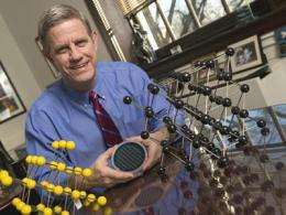 Stressed nanomaterials display unexpected movement
