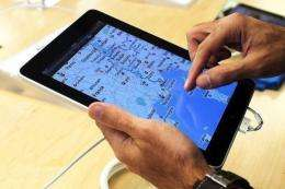 Stroke victims are seen as just some of those who could potentially benefit from the iPad