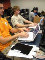 Students test-drive iPads in technical writing course