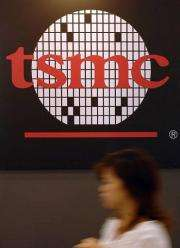 Taiwan Semiconductor Manufacturing Co said it would invest more than nine billion US dollars building a new plant