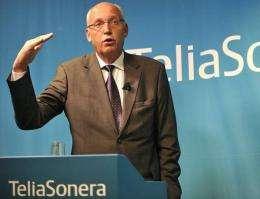 TeliaSoneras Chief Executive Lars Nyberg