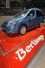 The Berlingo car