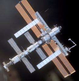 The ISS which orbits 350 kilometers above Earth is a sophisticated platform for scientific experiments