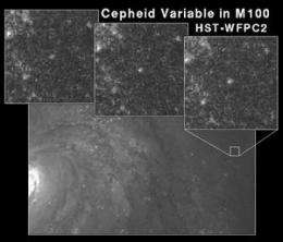 The little cepheid that stopped