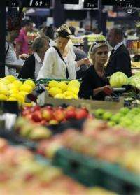 The report has warned that food prices could rise substantially over the next 40 years