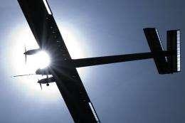 The Solar Impulse aircraft
