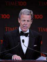 Time Warner chief executive Jeff Bewkes