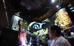 Tokyo event showcases fledgling 3-D gaming (AP)