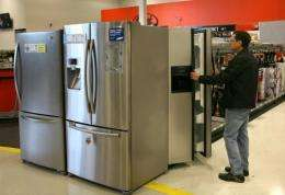 To qualify for rebates, consumers must buy appliances which meet energy standards set by the federal government