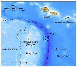 Triple whammy triggered Samoa tsunami