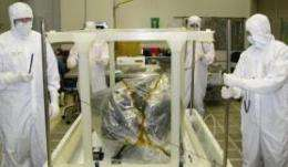 UA Camera Begins Next Leg on Journey to Space
