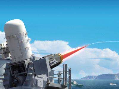 Laser shoots down drones at sea