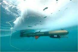UBC underwater robot to explore ice