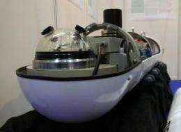 Underwater robots on course to the deep sea