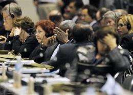 UN nature meeting agrees on land, ocean protection (AP)