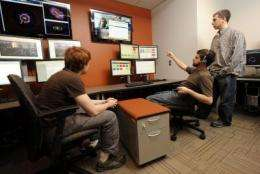 Vanderbilt sets up 1 of 8 virtual control rooms for LHC in US