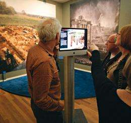 Virtual museum guide