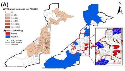 Sewage Raises West Nile Virus Risk